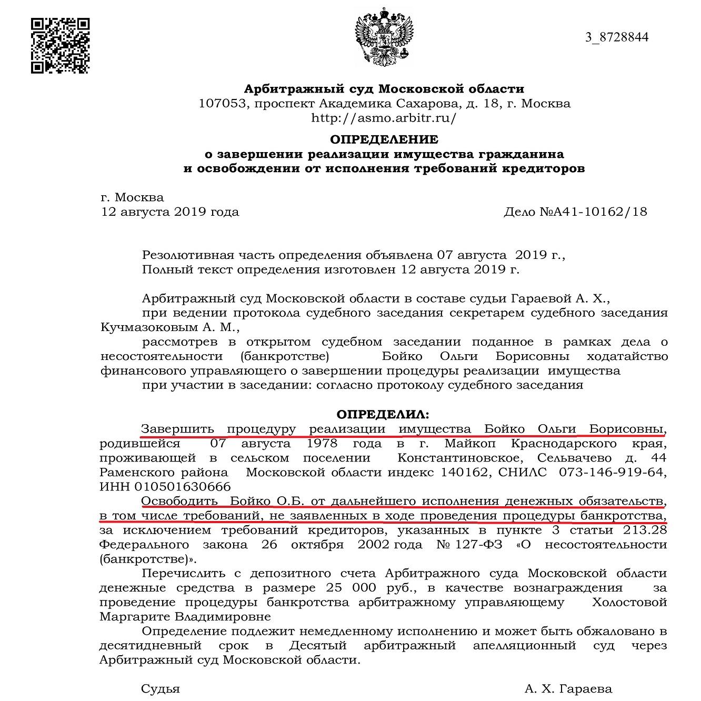 крупные банкротства в москве